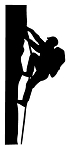 Rock Climbing Decal Sticker